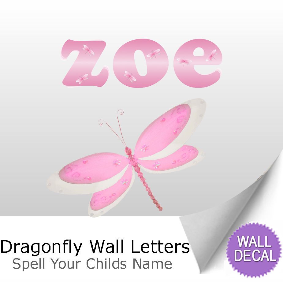 wall letter alphabet initial sticker vinyl stickers decals