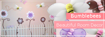 Bumble bee Bedroom & Nursery Decorations