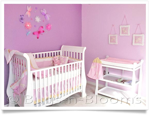 Nursery Decorating Ideas | Baby Design Ideas | Butterfly Room ...