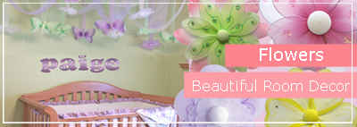 Flower Bedroom & Nursery Decorations