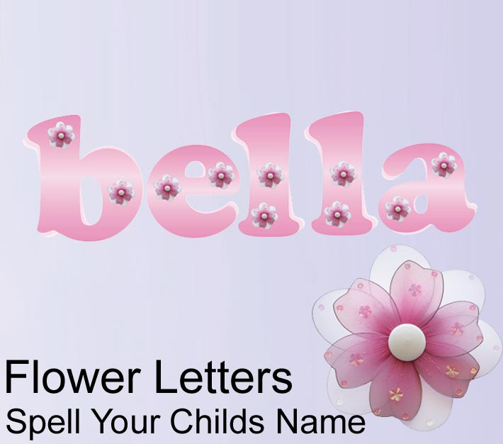 Nursery wall ideas car interior design for Letters for kids rooms